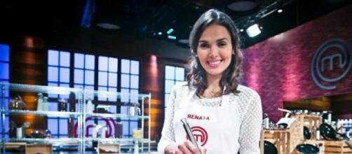 Renata foi a concorrente expulsa do MasterChef