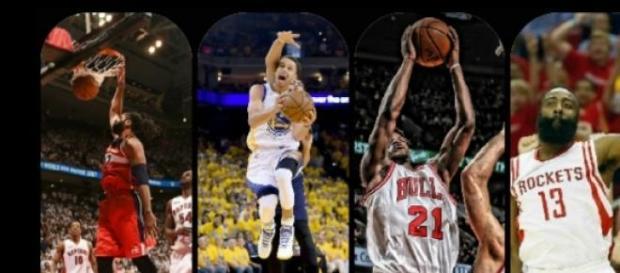 Playoffs da NBA começaram neste sábado (18).
