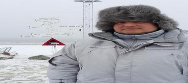 Wicepremier Rogozin na Arktyce