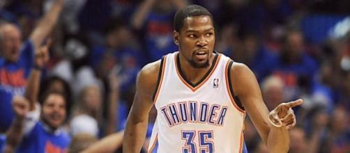 Kevin Durant, alero de Oklahoma Thunder