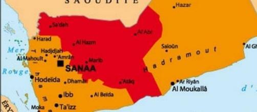 L a carte du Yémen pour mieux visualiser