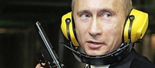 Putin durante esercitazioni