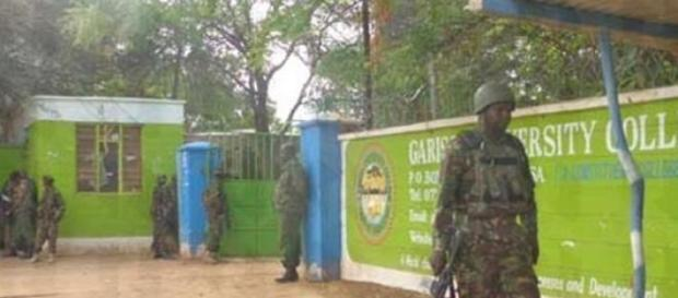 Kenyan Troops at Garissa University College