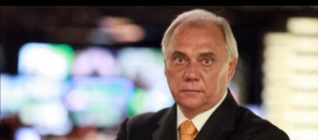 Marcelo Rezende ameaça ator com faca