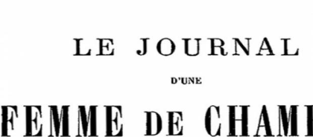 Portada de la novela de Mirbeau del siglo pasado