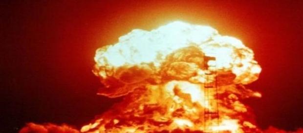 Testowy wybuch bomby atomowej