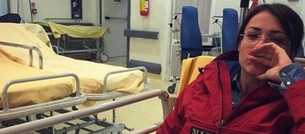 Valentina Rapisarda in ospedale, ecco perché