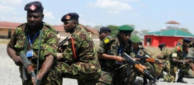 Forças de segurança enfrentam extremistas.
