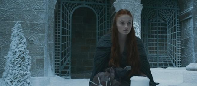 Sansa Stark, interpretada pela atriz Sophie Turner