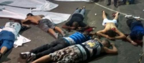 Adeptos do Corinthians foram mortos a tiro