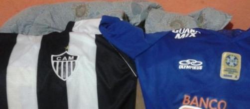 Azul, preto e branco paixão , é amor acima de tudo