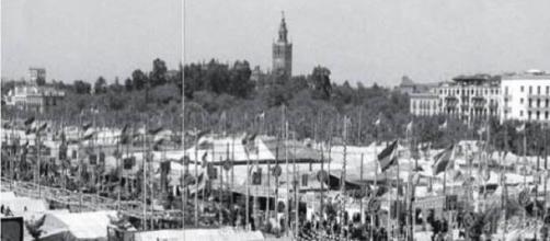 Feria de abril de Sevilla en 1960