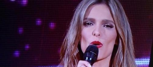 Fernanda Lima com muita segurança na apresentação