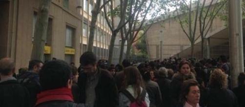 Pais e alunos em pânico à porta do Instituto