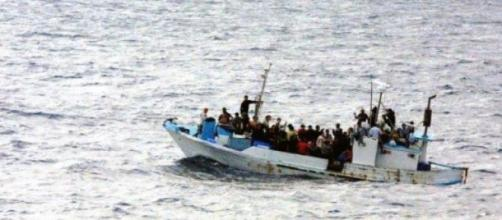 Some migrants are lucky enough to be saved at sea