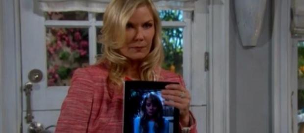 Brooke blocca le nozze di Deacon