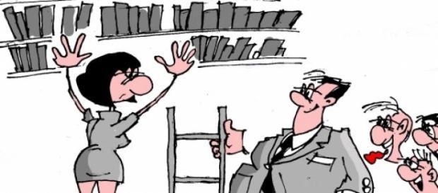 Molestowanie usankcjonowanym procederem w pracy