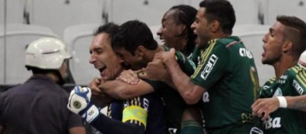 Palmeiras elimina o Corinthians nos pênaltis.