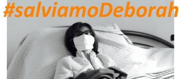 #salviamoDeborah: un hashtag per il crowdfunding