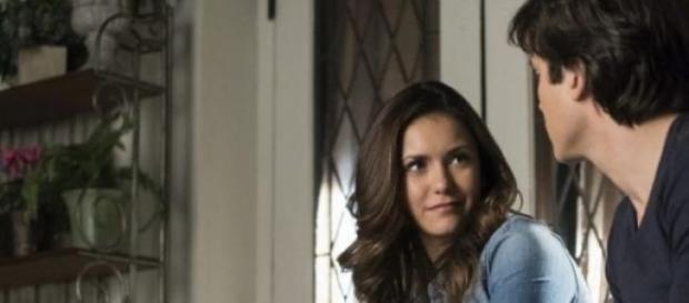 The Vampire Diaries 6x19 Damon ed Elena