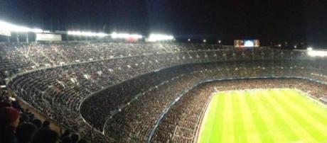 Barcelone-Paris, au Nou Camp.