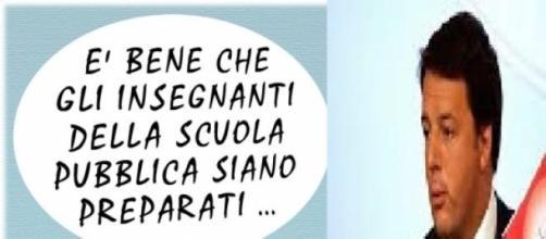 Lettera di Renzi ai docenti italiani