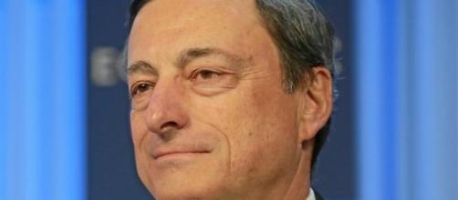 Mario Draghi, presidente della BCE