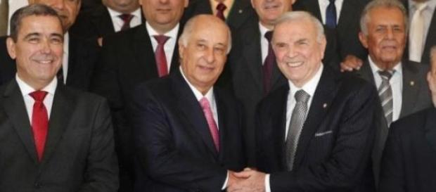 Del Nero sucede Marin na presidência da CBF