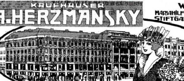 Dom towarowy w Wiedniu, zima 1913/14