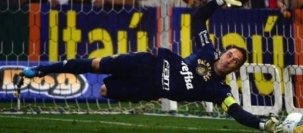 Fernando Prass levou Palmeiras para a final