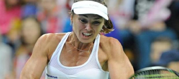 Hingis est revenue en simple !