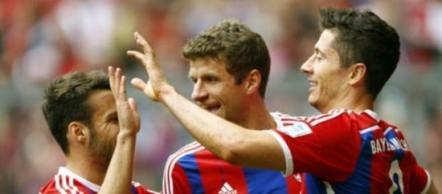 Robert Lewandowski strzelił dwa gole w rewanżu.