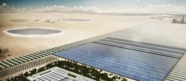 Usinas de Energia Solar utilizam espelhos..