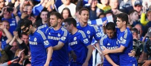 Eden Hazard scored Chelsea's only goal