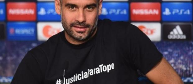 Guardiola, en la conferencia de prensa