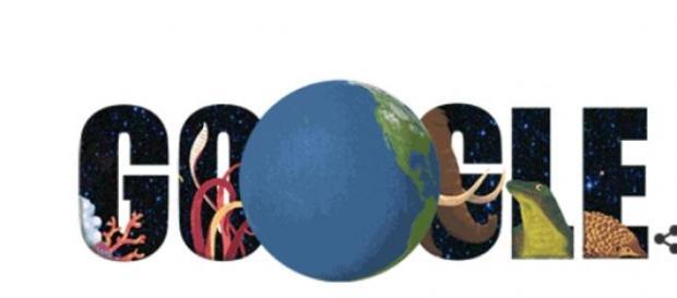 Logo Google na Dzień Ziemi 2015, źródło: Google.pl