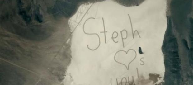 Mensagem registrada pelo pai de Stephanie