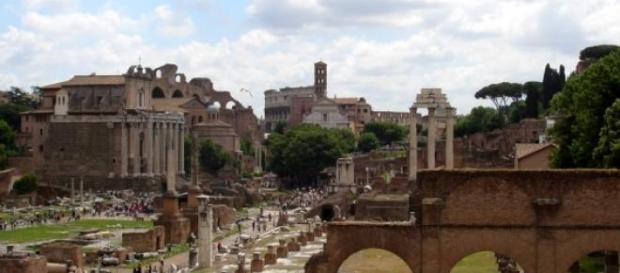Vista dei Fori Imperiali di Roma
