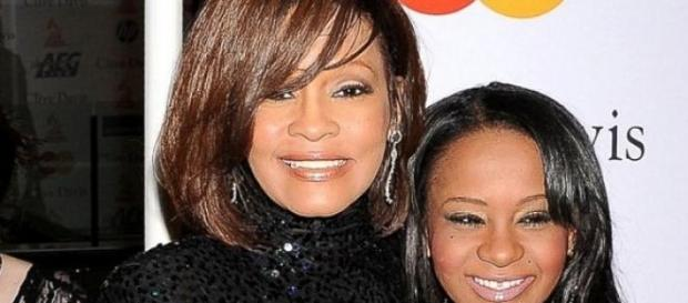Whitney Houston con la figlia Bobbi Kristina
