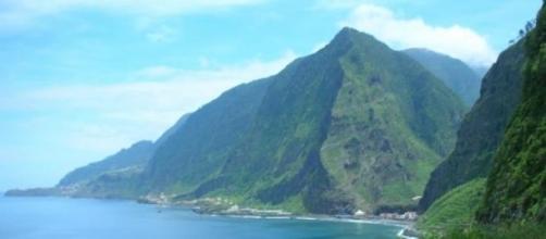 Costa norte da ilha da Madeira