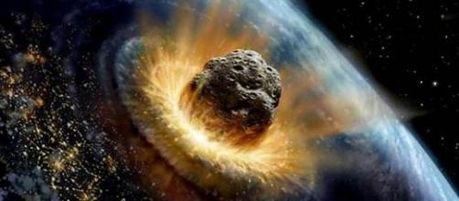 Cuando un meteorito se encuentra con la Tierra