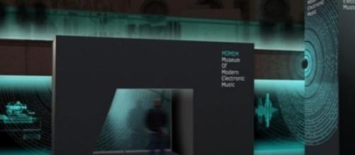 Entrada do Museu de Música Electrónica Moderna