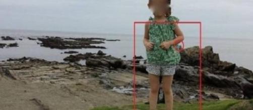 Fantasma di un Samurai in foto di una bambina?