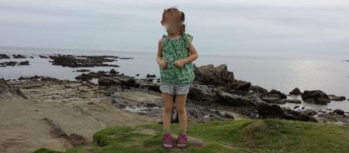 La figura se vio en una sola de las cinco fotos.