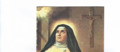 S. Teresa d'Avila in un dipinto anonimo