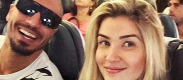 Ex-BBBs Fernando e Aline vão juntos para Micareta