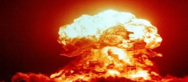 Imagen de una explosión nuclear