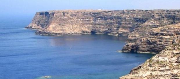 Lampedusa, lugar de llegada de inmigrantes