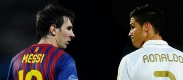 Messi y Ronaldo, máximos representantes.