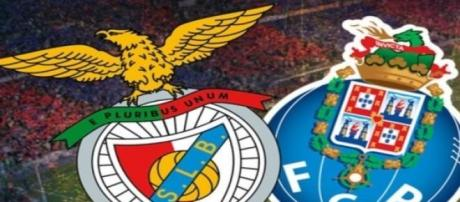 Benfica e Porto disputam o primeiro lugar.